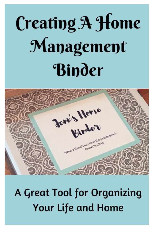 Creating A Home Management Binder 3