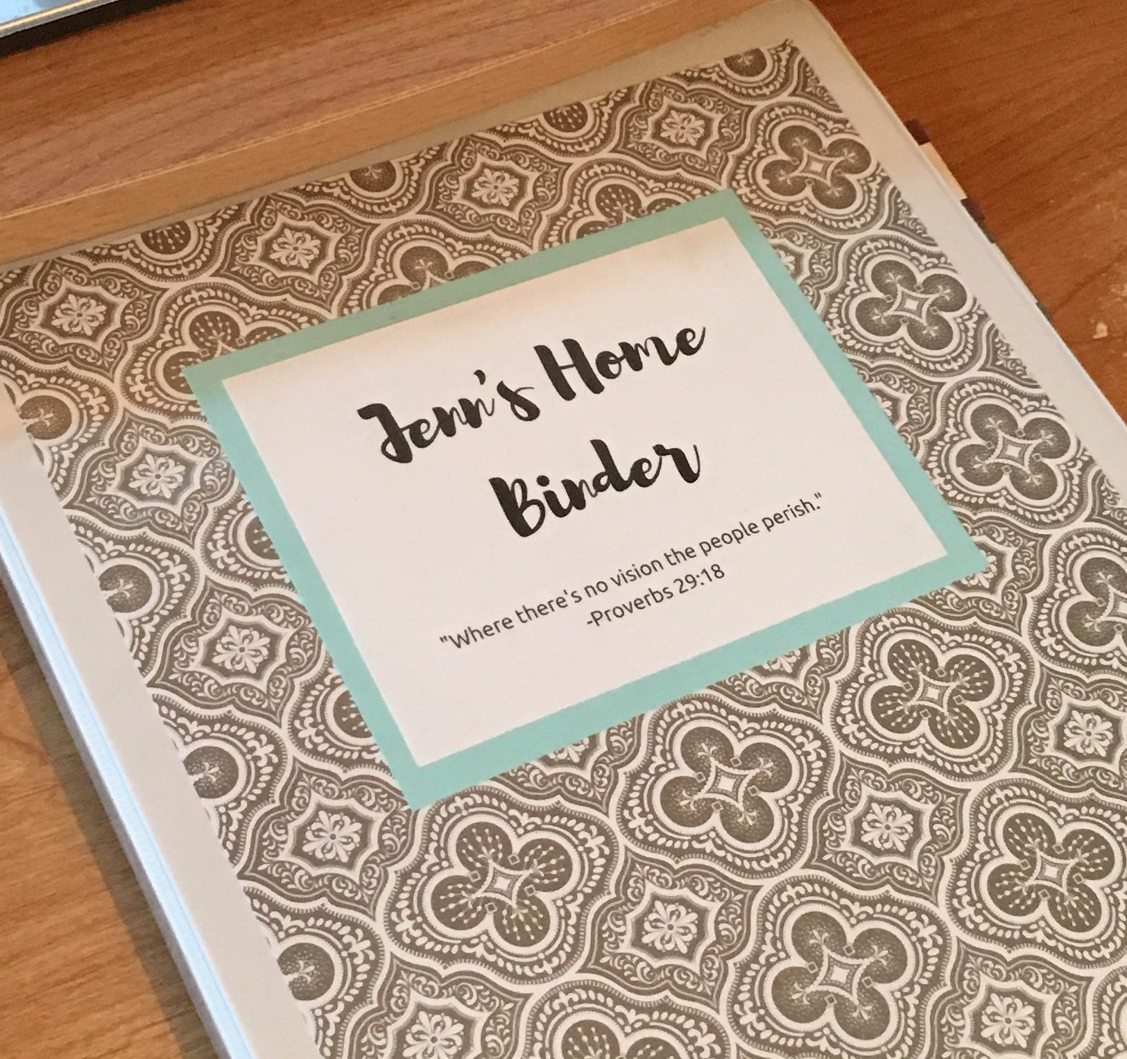 Creating A Home Management Binder- A Great Tool to Organize